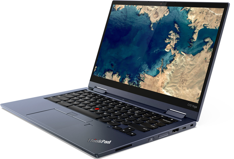 Ноутбук Lenovo ThinkPad C13 Yoga Chromebook Enterprise построен на платформе AMD